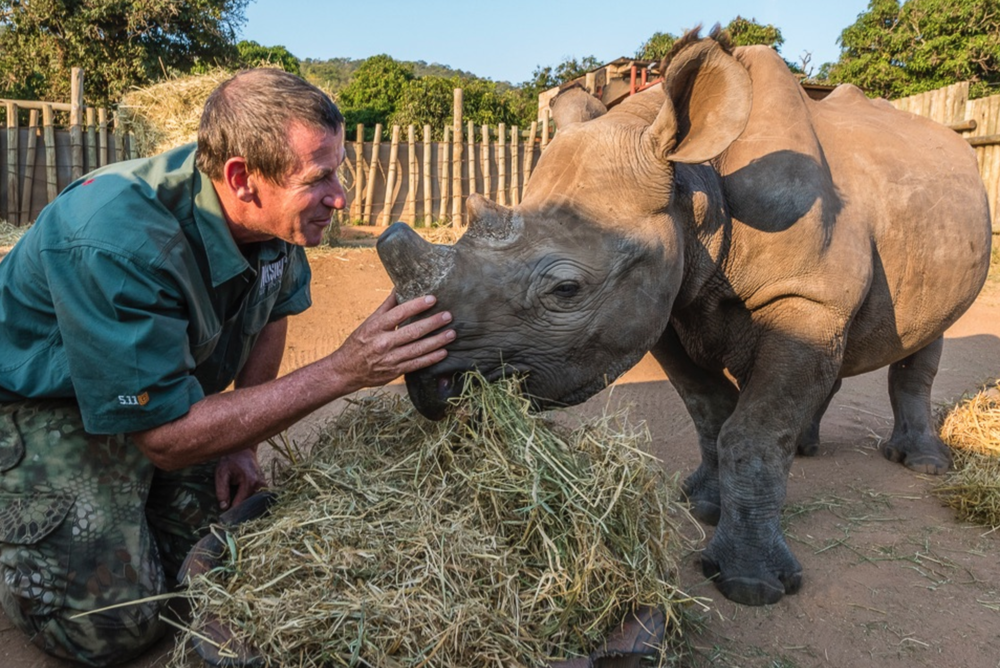 Care For Wild Rhino Orphanage To date support of this project : $25,000