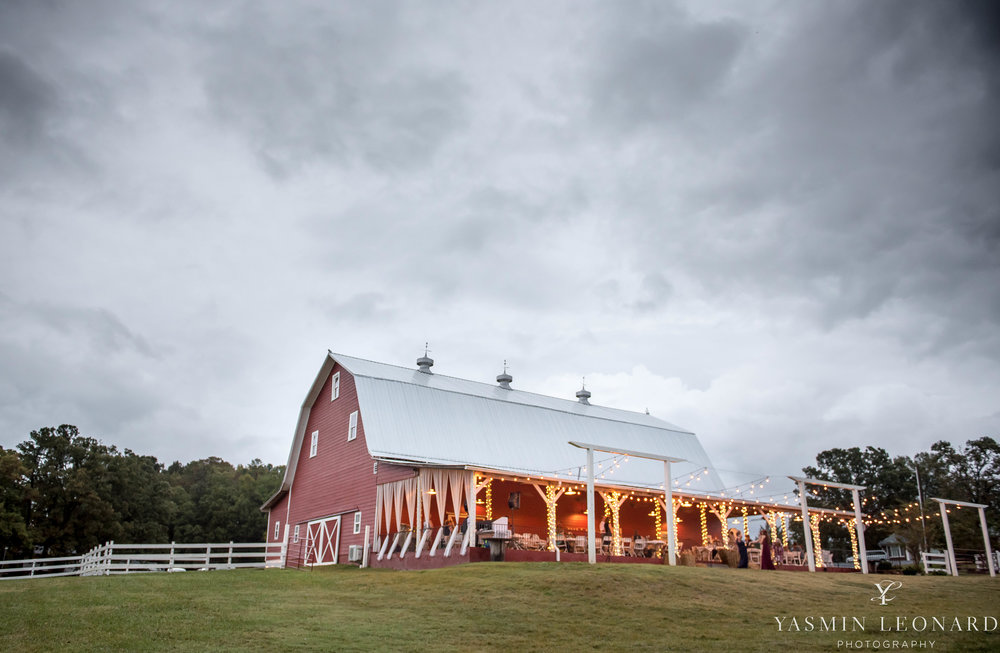 Millikan Farms - NC Wedding Venue - NC Wedding Photographer - Yasmin Leonard Photography - Rain on your wedding day-1.jpg