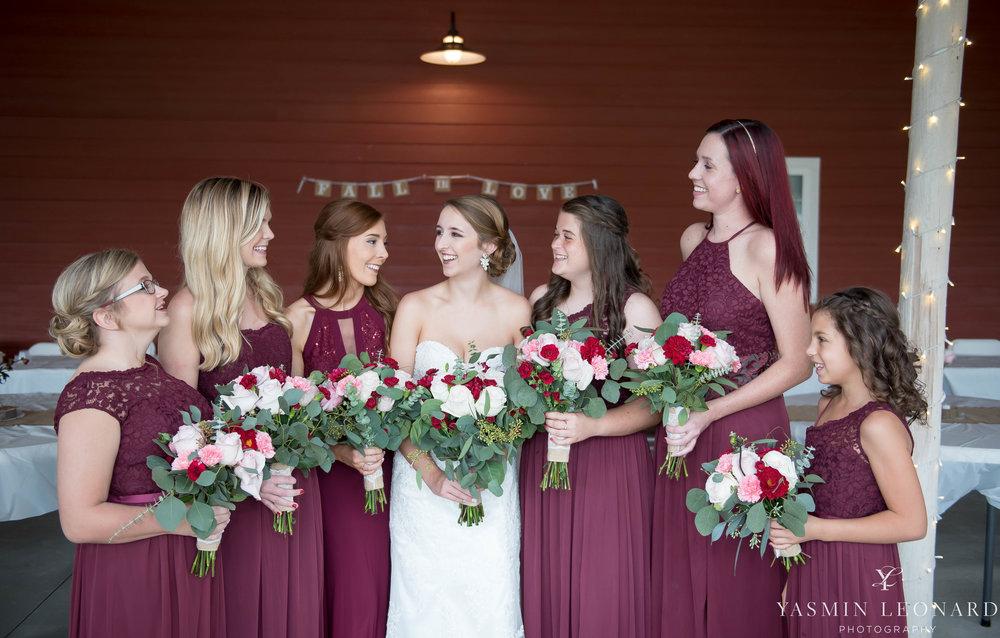 Millikan Farms - NC Wedding Venue - NC Wedding Photographer - Yasmin Leonard Photography - Rain on your wedding day-17.jpg