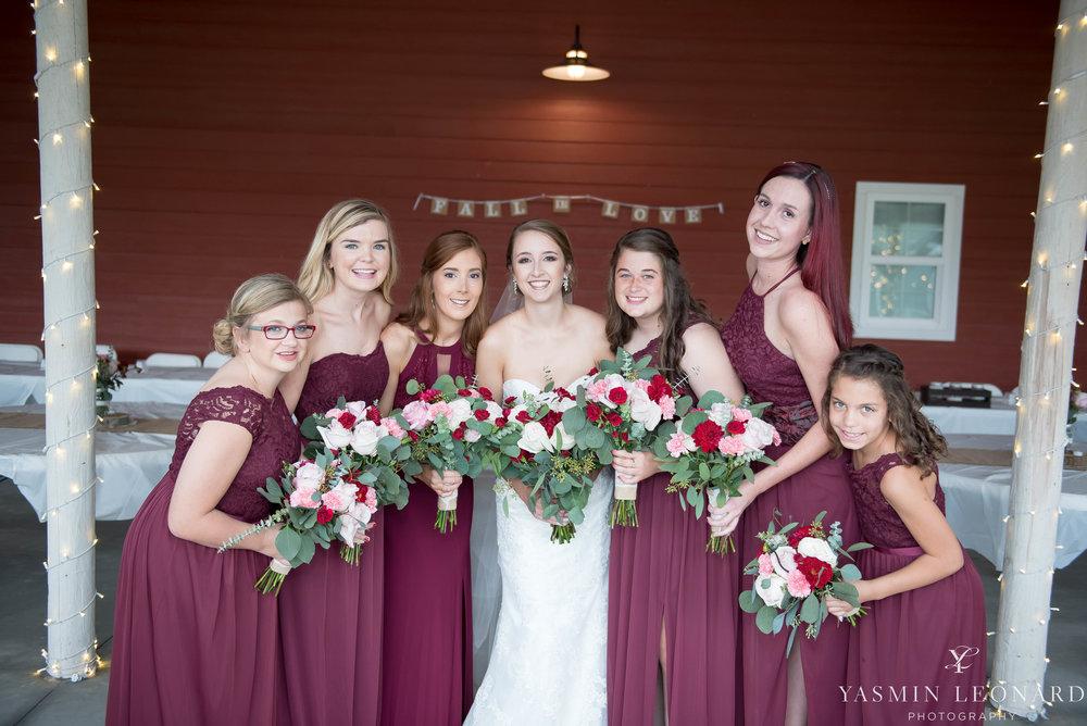 Millikan Farms - NC Wedding Venue - NC Wedding Photographer - Yasmin Leonard Photography - Rain on your wedding day-19.jpg