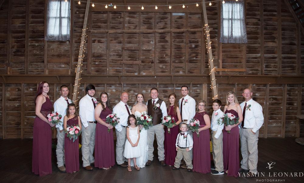 Millikan Farms - NC Wedding Venue - NC Wedding Photographer - Yasmin Leonard Photography - Rain on your wedding day-36.jpg