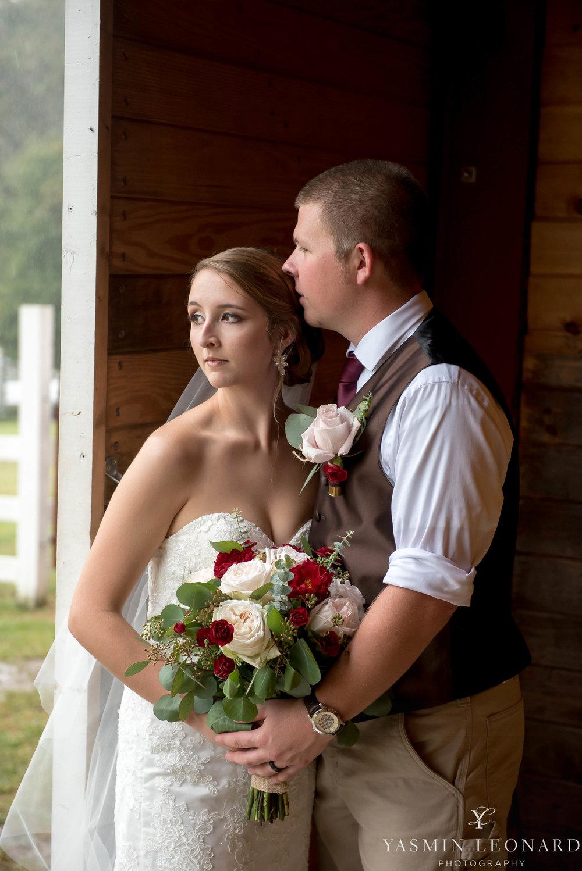 Millikan Farms - NC Wedding Venue - NC Wedding Photographer - Yasmin Leonard Photography - Rain on your wedding day-44.jpg