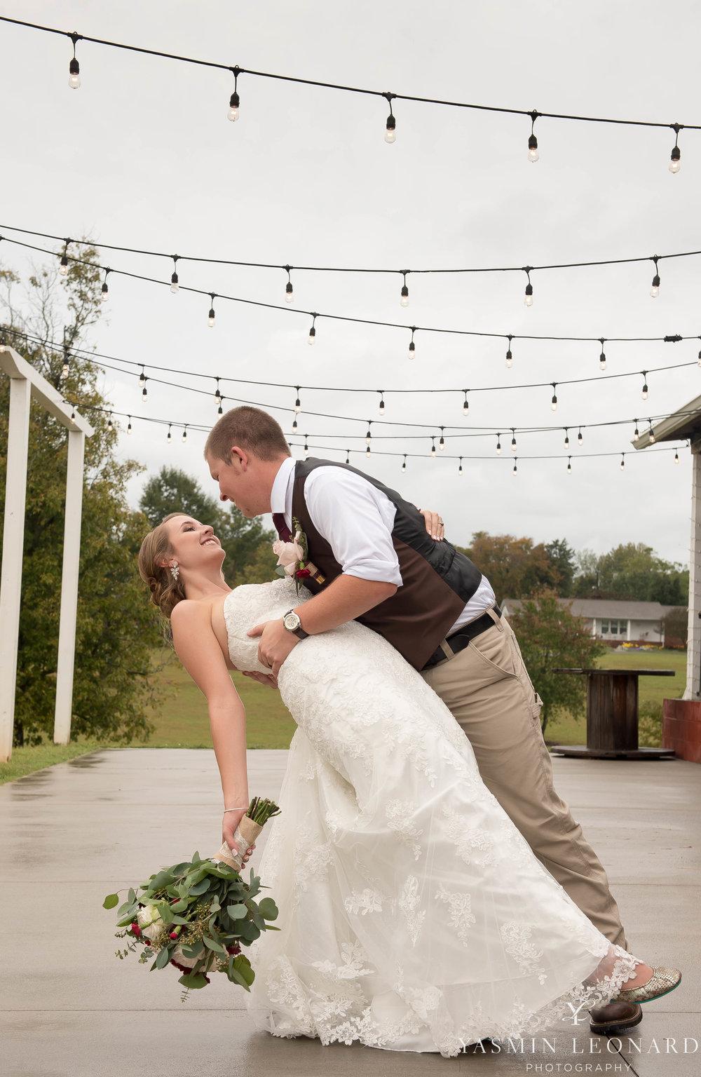 Millikan Farms - NC Wedding Venue - NC Wedding Photographer - Yasmin Leonard Photography - Rain on your wedding day-50.jpg