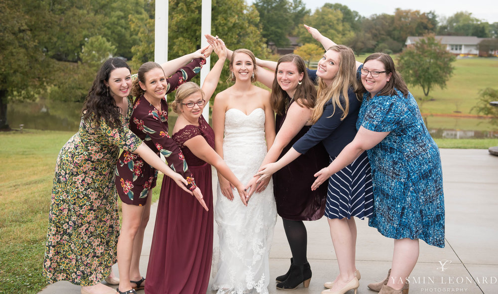Millikan Farms - NC Wedding Venue - NC Wedding Photographer - Yasmin Leonard Photography - Rain on your wedding day-58.jpg