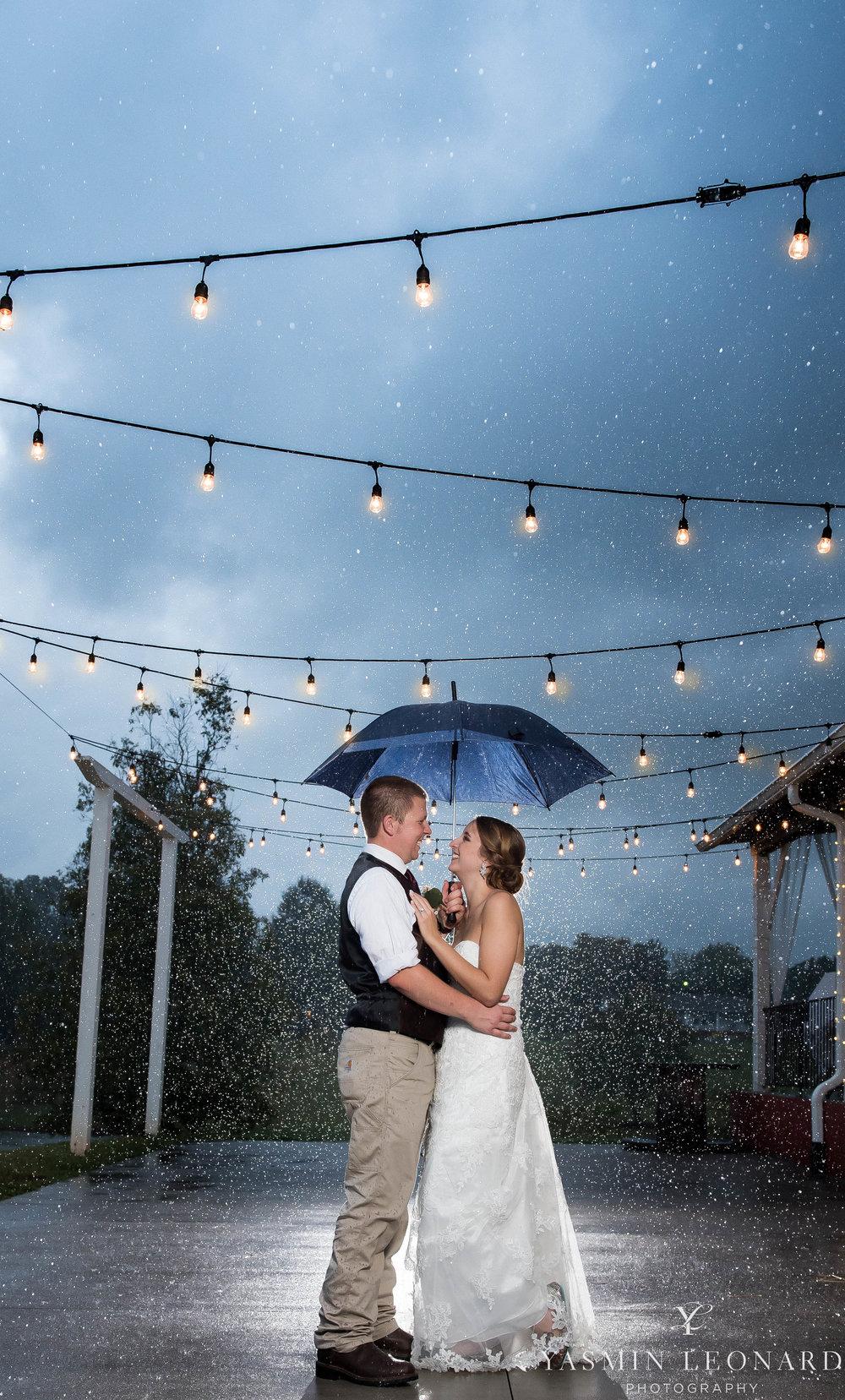 Millikan Farms - NC Wedding Venue - NC Wedding Photographer - Yasmin Leonard Photography - Rain on your wedding day-76.jpg