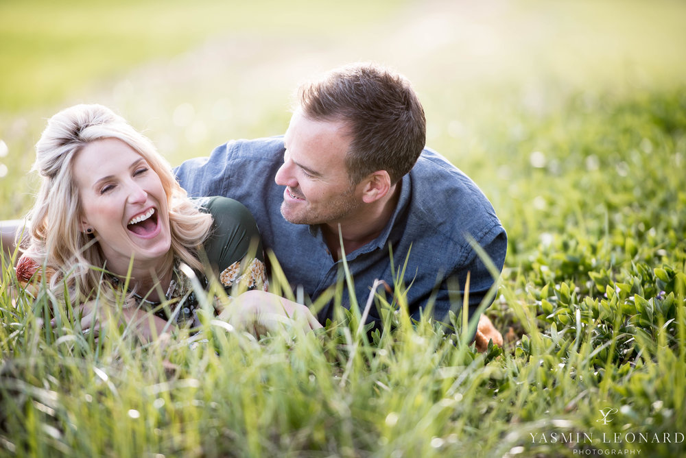High Point Wedding Photographer - NC Wedding Photographer - Yasmin Leonard Photography - Engagement Poses - Engagement Ideas - Outdoor Engagement Session-2.jpg