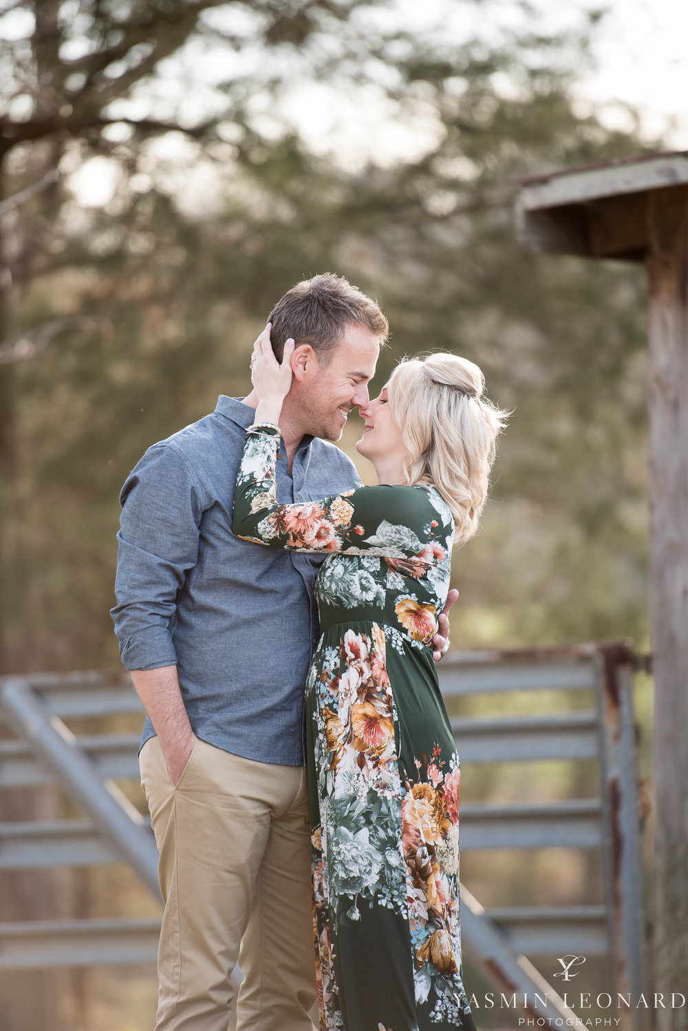 High Point Wedding Photographer - NC Wedding Photographer - Yasmin Leonard Photography - Engagement Poses - Engagement Ideas - Outdoor Engagement Session-13.jpg