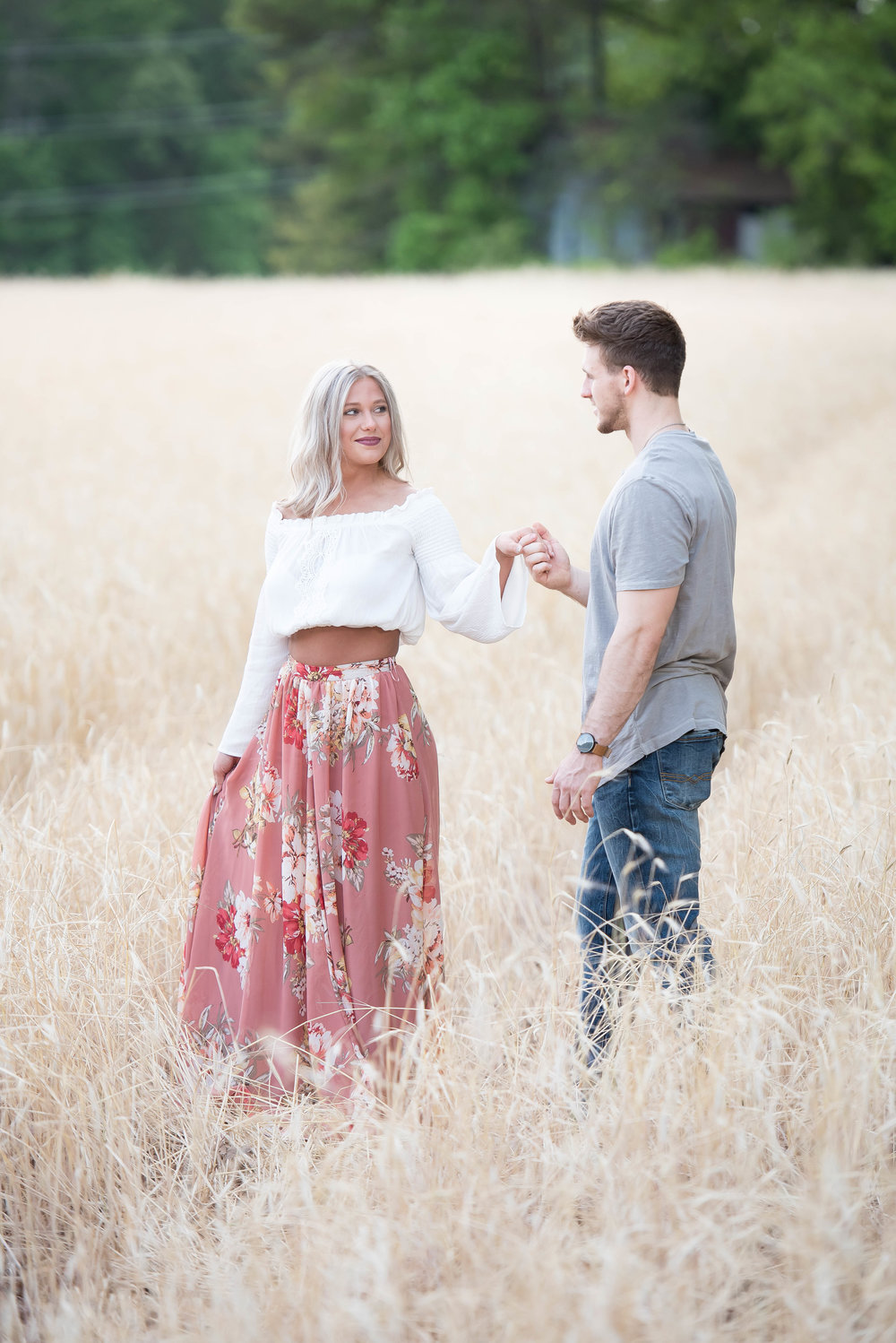 Couple Session - Fitness Couples - Tall Grass Field - Engagement Portrait Ideas - Engagement Session Ideas - Couple Session Ideas - Spring Picture Ideas-2.jpg