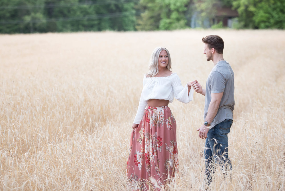 Couple Session - Fitness Couples - Tall Grass Field - Engagement Portrait Ideas - Engagement Session Ideas - Couple Session Ideas - Spring Picture Ideas-4.jpg