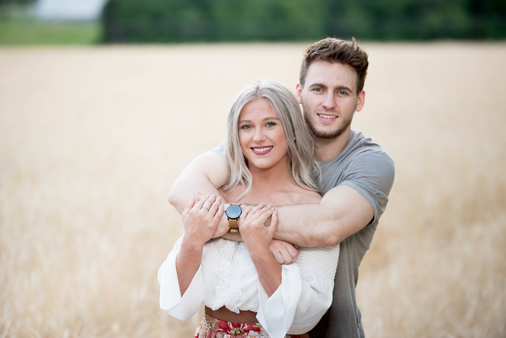 Couple Session - Fitness Couples - Tall Grass Field - Engagement Portrait Ideas - Engagement Session Ideas - Couple Session Ideas - Spring Picture Ideas-8.jpg