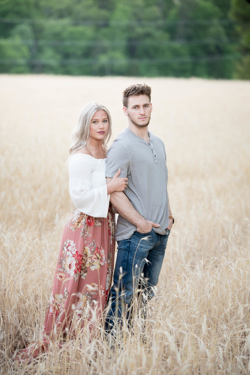 Couple Session - Fitness Couples - Tall Grass Field - Engagement Portrait Ideas - Engagement Session Ideas - Couple Session Ideas - Spring Picture Ideas-12.jpg