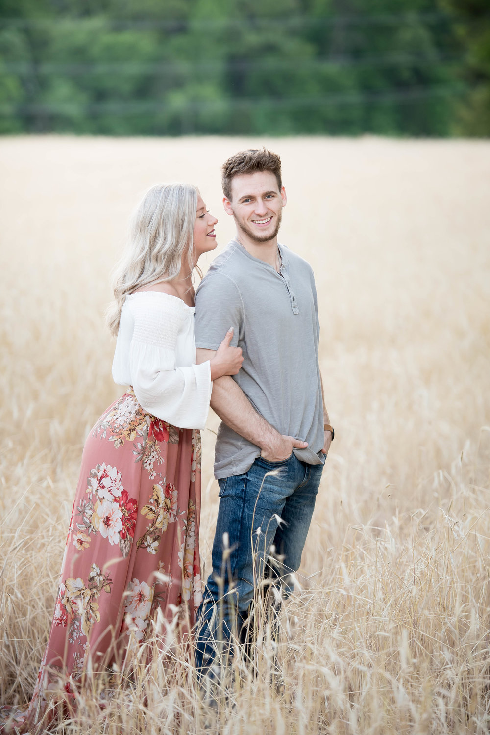 Couple Session - Fitness Couples - Tall Grass Field - Engagement Portrait Ideas - Engagement Session Ideas - Couple Session Ideas - Spring Picture Ideas-13.jpg