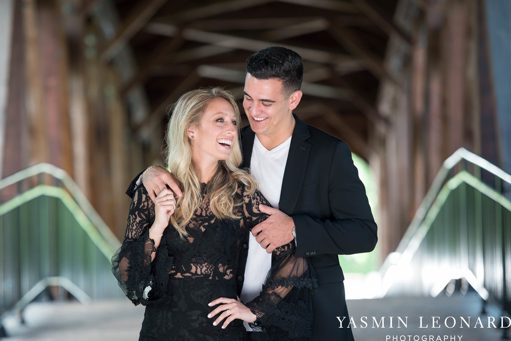 Downtown Winston Salem Engagement Session - NC Engaged - NC Weddings - Winston Salem Weddings - Yasmin Leonard Photography-33.jpg