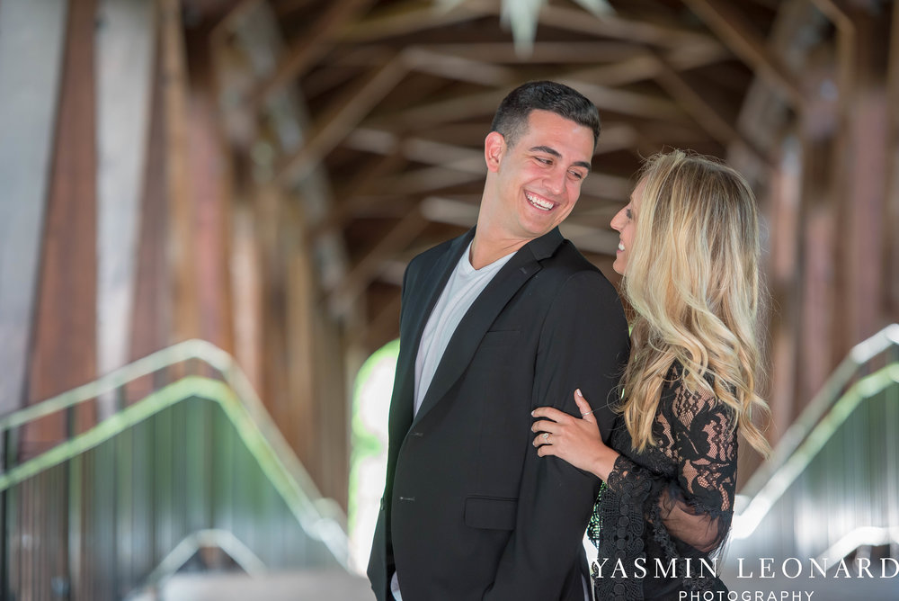 Downtown Winston Salem Engagement Session - NC Engaged - NC Weddings - Winston Salem Weddings - Yasmin Leonard Photography-36.jpg