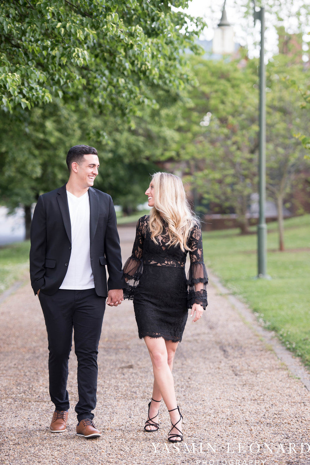 Downtown Winston Salem Engagement Session - NC Engaged - NC Weddings - Winston Salem Weddings - Yasmin Leonard Photography-28.jpg