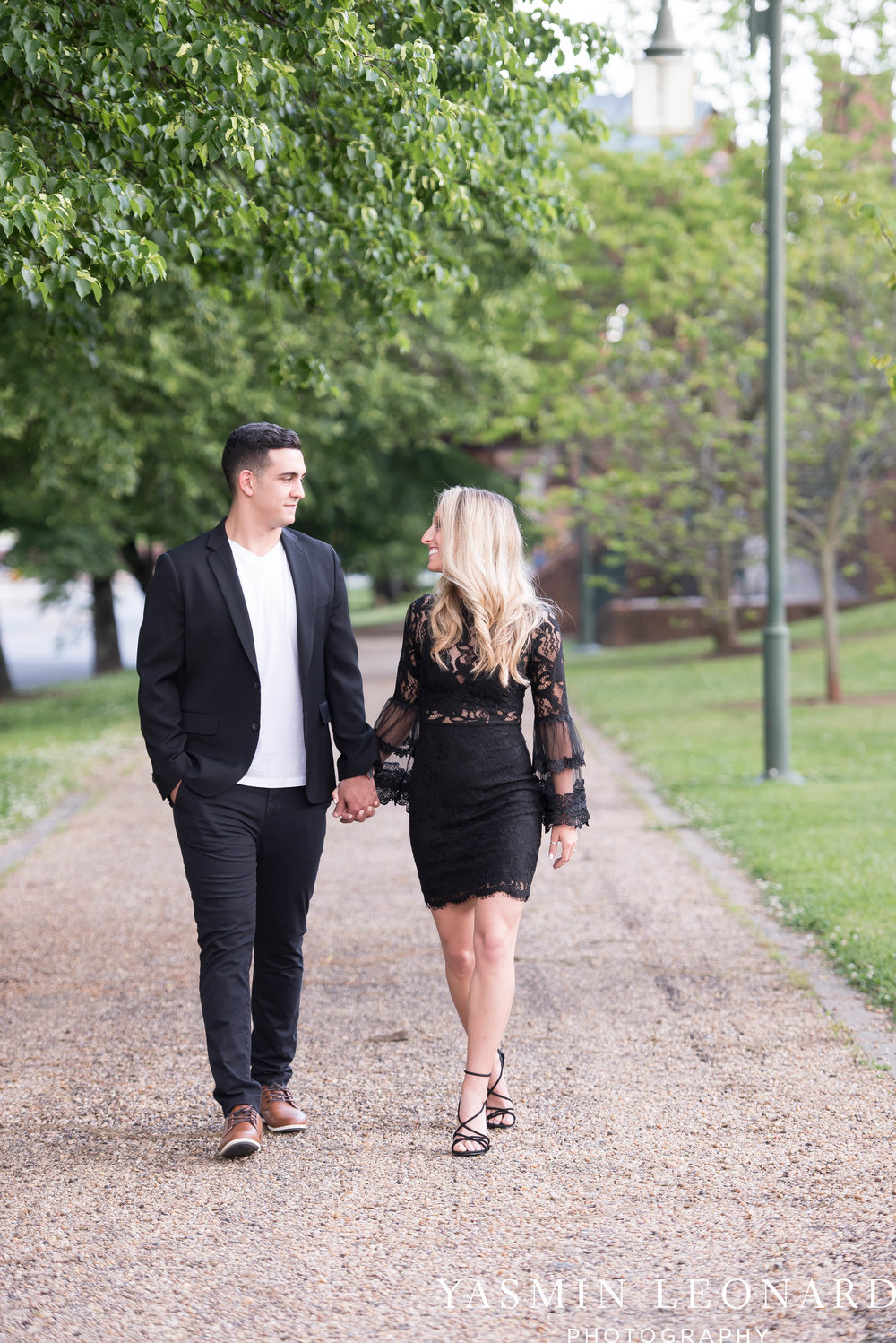 Downtown Winston Salem Engagement Session - NC Engaged - NC Weddings - Winston Salem Weddings - Yasmin Leonard Photography-29.jpg