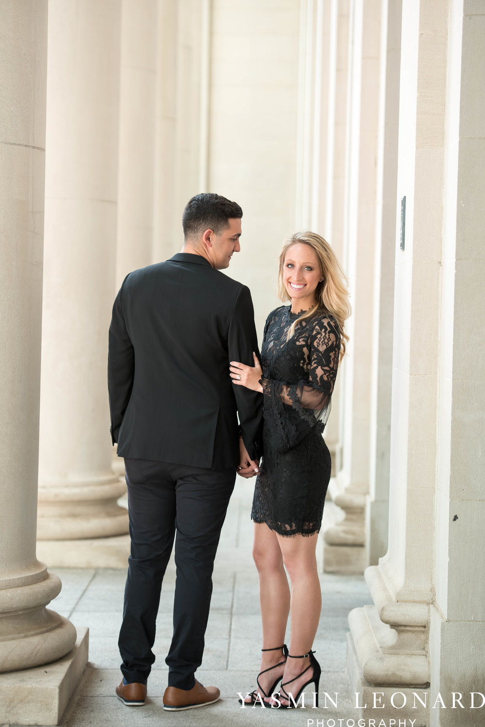 Downtown Winston Salem Engagement Session - NC Engaged - NC Weddings - Winston Salem Weddings - Yasmin Leonard Photography-22.jpg