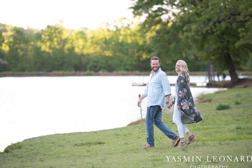 Winston Salem Engagement - Tanglewood Engagement Session - Winston Salem Wedding Photographer - NC Wedding Photographer - Engagment Ideas - Outdoor Engagement Session - Light and airy Engagement - Yasmin Leonard Photography-13.jpg
