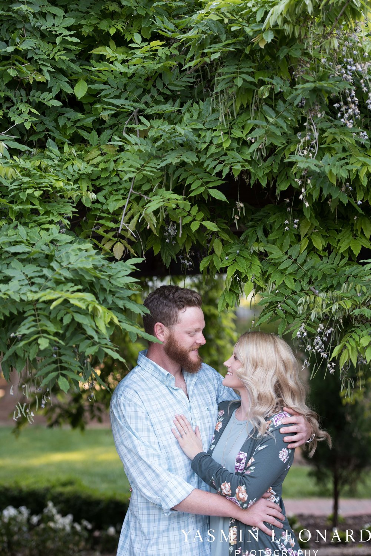 Winston Salem Engagement - Tanglewood Engagement Session - Winston Salem Wedding Photographer - NC Wedding Photographer - Engagment Ideas - Outdoor Engagement Session - Light and airy Engagement - Yasmin Leonard Photography-17.jpg
