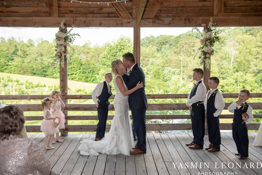 Elkin Creek Vineyard - Elkin Creek Weddings - NC Wine - NC Wineries - NC Weddings - NC Photographers - NC Wedding Photographer - NC Winery Wedding Ideas - Yasmin Leonard Photography - High Point Wedding Photographer-43.jpg