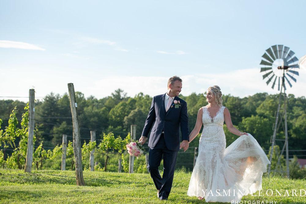 Elkin Creek Vineyard - Elkin Creek Weddings - NC Wine - NC Wineries - NC Weddings - NC Photographers - NC Wedding Photographer - NC Winery Wedding Ideas - Yasmin Leonard Photography - High Point Wedding Photographer-63.jpg