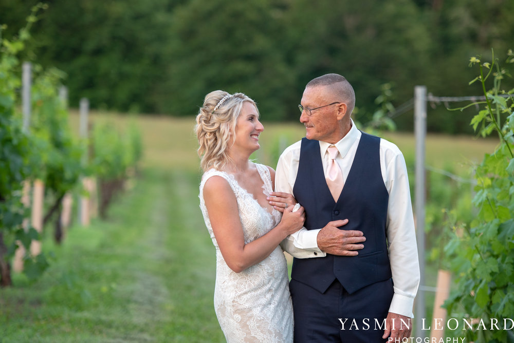 Elkin Creek Vineyard - Elkin Creek Weddings - NC Wine - NC Wineries - NC Weddings - NC Photographers - NC Wedding Photographer - NC Winery Wedding Ideas - Yasmin Leonard Photography - High Point Wedding Photographer-89.jpg