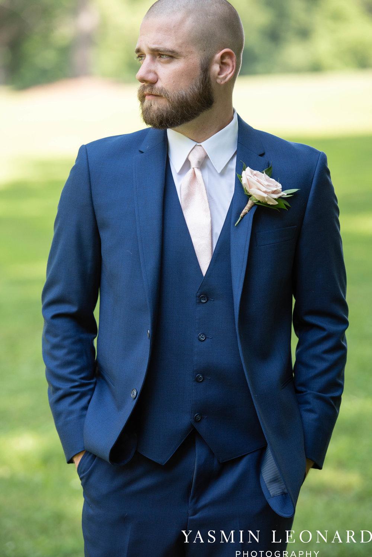 L'abri at Linwood - Yasmin Leonard Photography - NC Wedding Venues - NC Weddings - NC Photographer - High Point Wedding Photographer - Charlotte Wedding Photographer - Pink and Navy Wedding - Pale Pink Wedding - Outdoor Summer Wedding-18.jpg
