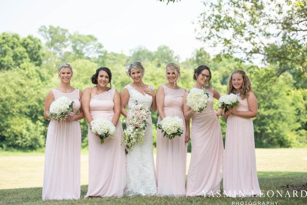 L'abri at Linwood - Yasmin Leonard Photography - NC Wedding Venues - NC Weddings - NC Photographer - High Point Wedding Photographer - Charlotte Wedding Photographer - Pink and Navy Wedding - Pale Pink Wedding - Outdoor Summer Wedding-23.jpg
