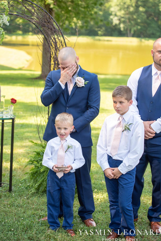 L'abri at Linwood - Yasmin Leonard Photography - NC Wedding Venues - NC Weddings - NC Photographer - High Point Wedding Photographer - Charlotte Wedding Photographer - Pink and Navy Wedding - Pale Pink Wedding - Outdoor Summer Wedding-31.jpg