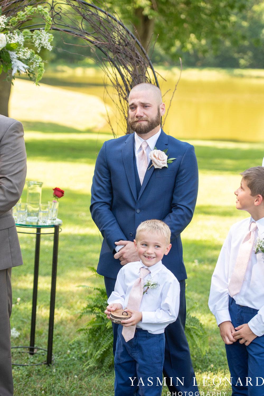 L'abri at Linwood - Yasmin Leonard Photography - NC Wedding Venues - NC Weddings - NC Photographer - High Point Wedding Photographer - Charlotte Wedding Photographer - Pink and Navy Wedding - Pale Pink Wedding - Outdoor Summer Wedding-32.jpg