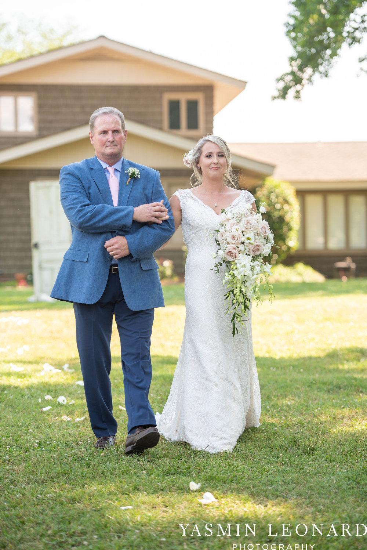 L'abri at Linwood - Yasmin Leonard Photography - NC Wedding Venues - NC Weddings - NC Photographer - High Point Wedding Photographer - Charlotte Wedding Photographer - Pink and Navy Wedding - Pale Pink Wedding - Outdoor Summer Wedding-33.jpg