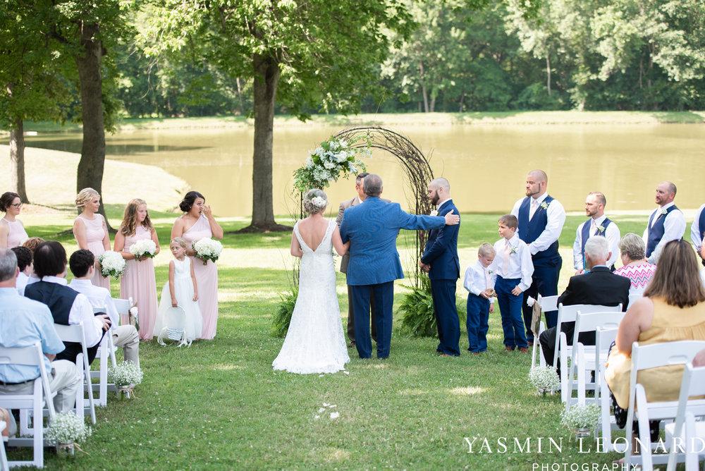 L'abri at Linwood - Yasmin Leonard Photography - NC Wedding Venues - NC Weddings - NC Photographer - High Point Wedding Photographer - Charlotte Wedding Photographer - Pink and Navy Wedding - Pale Pink Wedding - Outdoor Summer Wedding-35.jpg