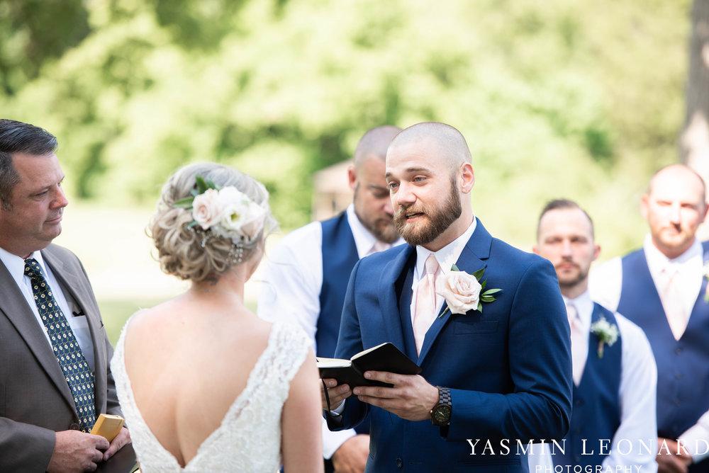 L'abri at Linwood - Yasmin Leonard Photography - NC Wedding Venues - NC Weddings - NC Photographer - High Point Wedding Photographer - Charlotte Wedding Photographer - Pink and Navy Wedding - Pale Pink Wedding - Outdoor Summer Wedding-38.jpg