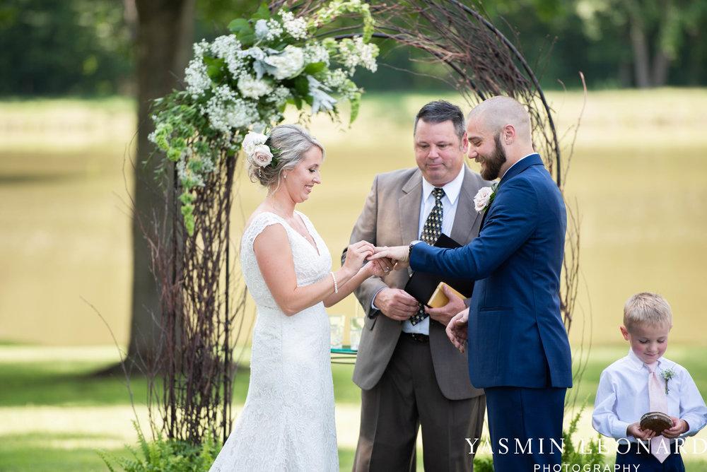 L'abri at Linwood - Yasmin Leonard Photography - NC Wedding Venues - NC Weddings - NC Photographer - High Point Wedding Photographer - Charlotte Wedding Photographer - Pink and Navy Wedding - Pale Pink Wedding - Outdoor Summer Wedding-42.jpg