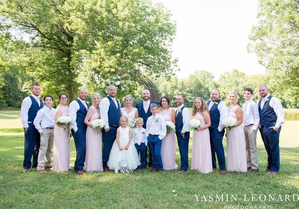 L'abri at Linwood - Yasmin Leonard Photography - NC Wedding Venues - NC Weddings - NC Photographer - High Point Wedding Photographer - Charlotte Wedding Photographer - Pink and Navy Wedding - Pale Pink Wedding - Outdoor Summer Wedding-52.jpg