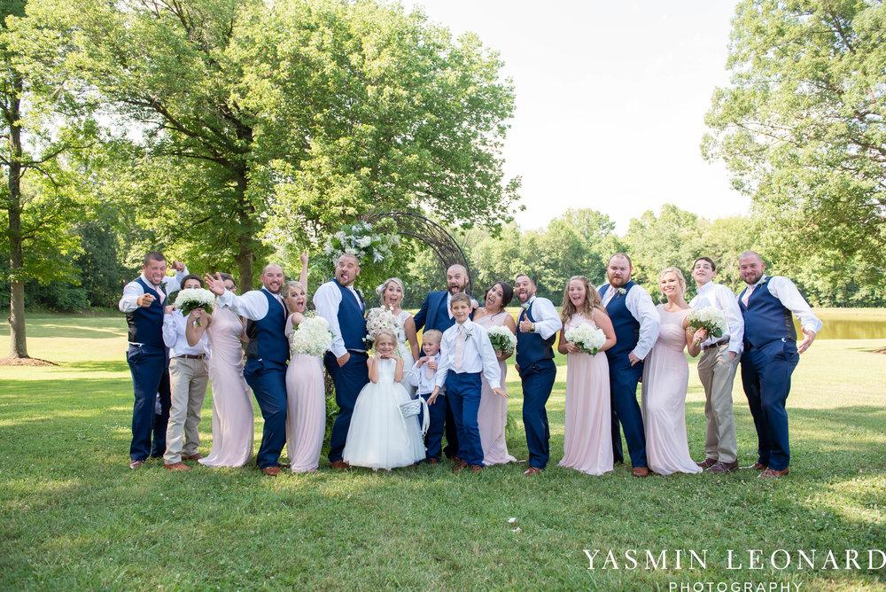 L'abri at Linwood - Yasmin Leonard Photography - NC Wedding Venues - NC Weddings - NC Photographer - High Point Wedding Photographer - Charlotte Wedding Photographer - Pink and Navy Wedding - Pale Pink Wedding - Outdoor Summer Wedding-53.jpg