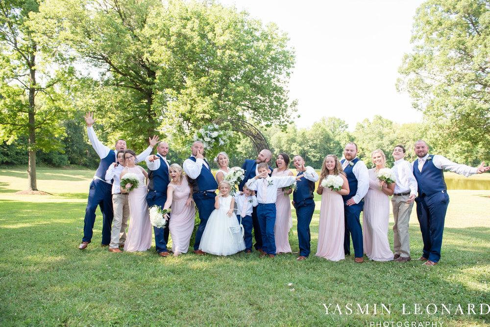 L'abri at Linwood - Yasmin Leonard Photography - NC Wedding Venues - NC Weddings - NC Photographer - High Point Wedding Photographer - Charlotte Wedding Photographer - Pink and Navy Wedding - Pale Pink Wedding - Outdoor Summer Wedding-54.jpg