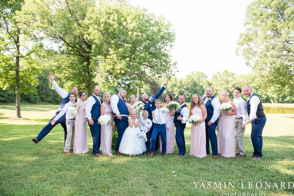 L'abri at Linwood - Yasmin Leonard Photography - NC Wedding Venues - NC Weddings - NC Photographer - High Point Wedding Photographer - Charlotte Wedding Photographer - Pink and Navy Wedding - Pale Pink Wedding - Outdoor Summer Wedding-55.jpg