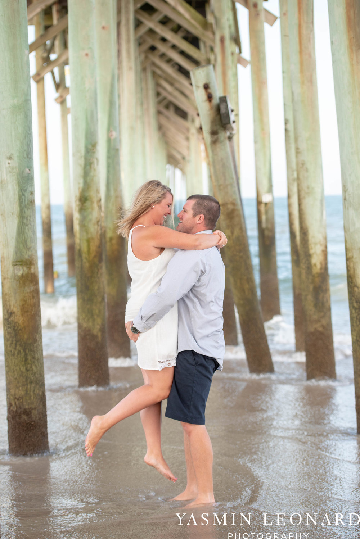 Carolina Beach Engagement Session - Kure Beach - Fort Fisher Engagement Session - Beach Engagement Session - Wrightsville Beach Weddings - Weddings on the Beach - Wilmington NC - Yasmin Leonard Photography-7.jpg