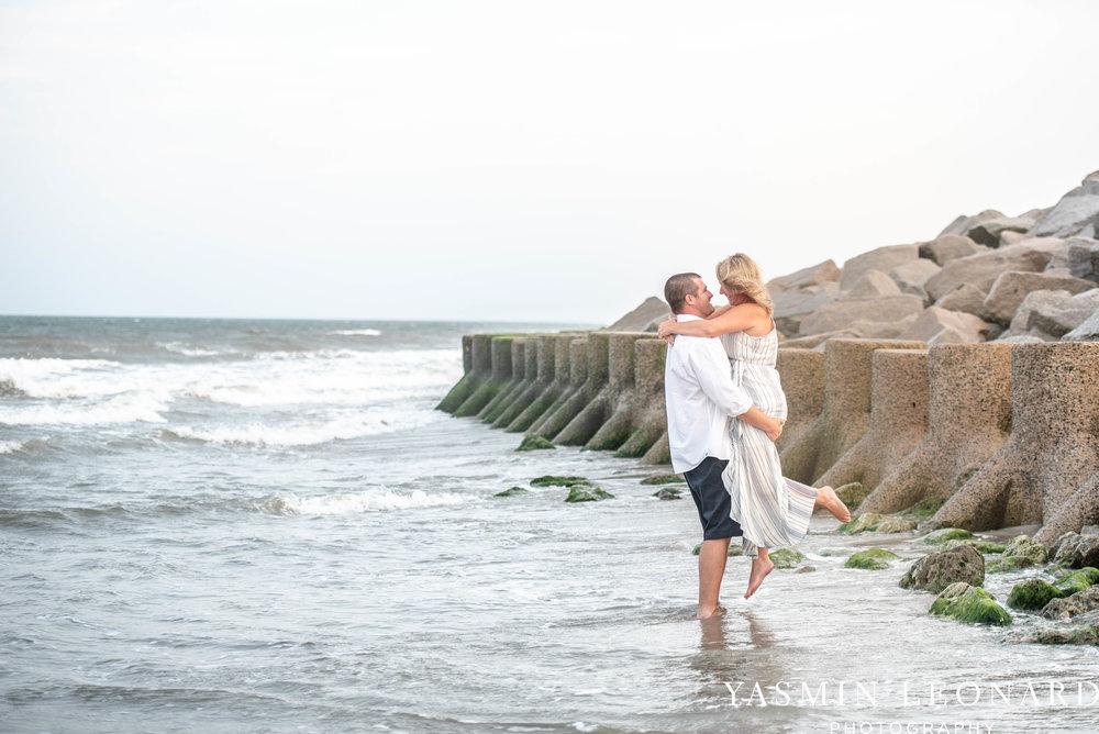Carolina Beach Engagement Session - Kure Beach - Fort Fisher Engagement Session - Beach Engagement Session - Wrightsville Beach Weddings - Weddings on the Beach - Wilmington NC - Yasmin Leonard Photography-13.jpg