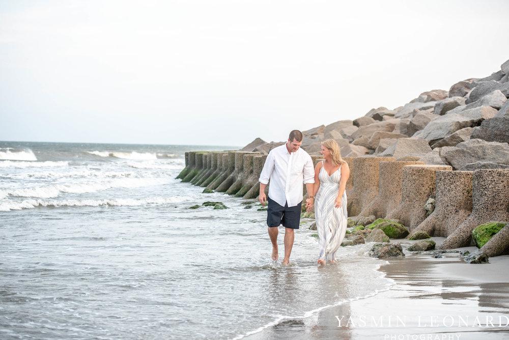 Carolina Beach Engagement Session - Kure Beach - Fort Fisher Engagement Session - Beach Engagement Session - Wrightsville Beach Weddings - Weddings on the Beach - Wilmington NC - Yasmin Leonard Photography-14.jpg