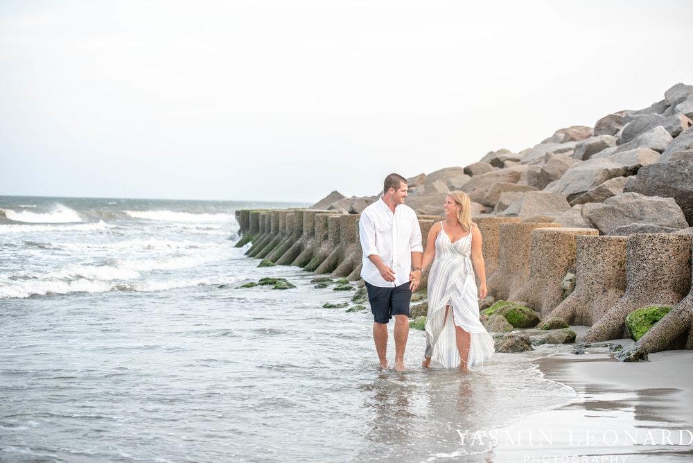 Carolina Beach Engagement Session - Kure Beach - Fort Fisher Engagement Session - Beach Engagement Session - Wrightsville Beach Weddings - Weddings on the Beach - Wilmington NC - Yasmin Leonard Photography-15.jpg