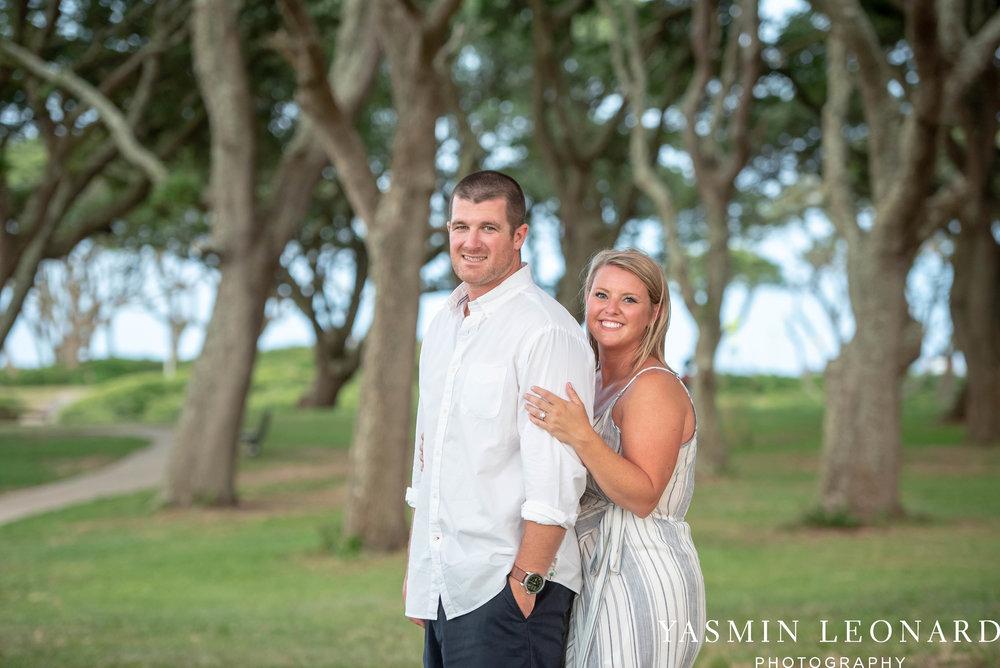 Carolina Beach Engagement Session - Kure Beach - Fort Fisher Engagement Session - Beach Engagement Session - Wrightsville Beach Weddings - Weddings on the Beach - Wilmington NC - Yasmin Leonard Photography-21.jpg