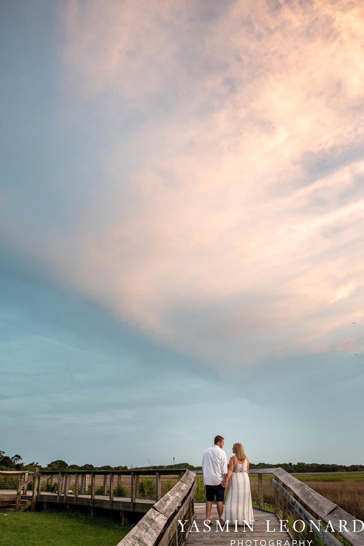 Carolina Beach Engagement Session - Kure Beach - Fort Fisher Engagement Session - Beach Engagement Session - Wrightsville Beach Weddings - Weddings on the Beach - Wilmington NC - Yasmin Leonard Photography-26.jpg