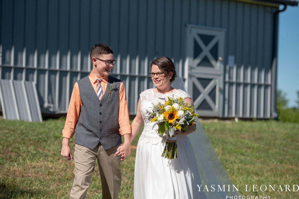 Patty and Matt - Sunflowers and Lemons - NC Wedding Photographer - Yasmin Leonard Photography-19.jpg