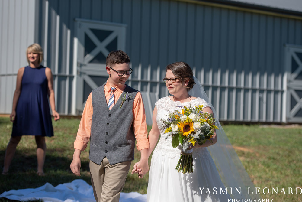 Patty and Matt - Sunflowers and Lemons - NC Wedding Photographer - Yasmin Leonard Photography-21.jpg