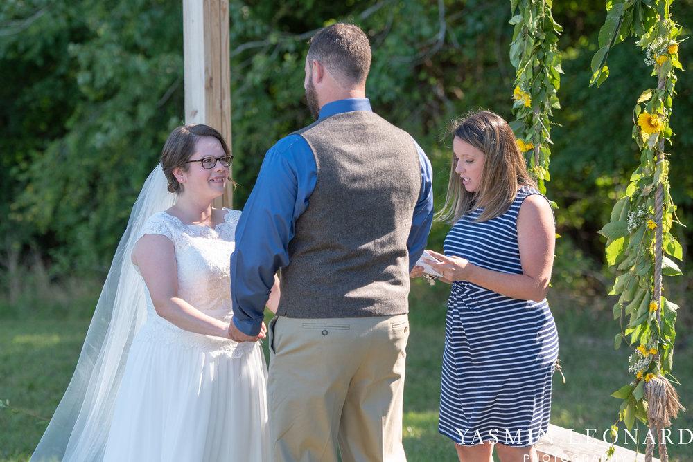 Patty and Matt - Sunflowers and Lemons - NC Wedding Photographer - Yasmin Leonard Photography-23.jpg