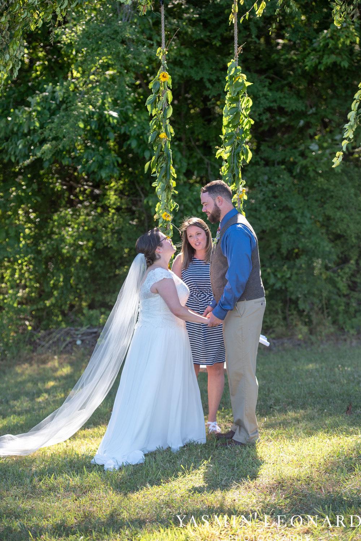 Patty and Matt - Sunflowers and Lemons - NC Wedding Photographer - Yasmin Leonard Photography-25.jpg