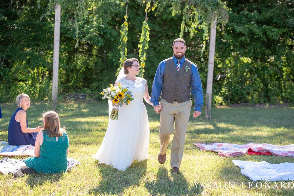 Patty and Matt - Sunflowers and Lemons - NC Wedding Photographer - Yasmin Leonard Photography-28.jpg