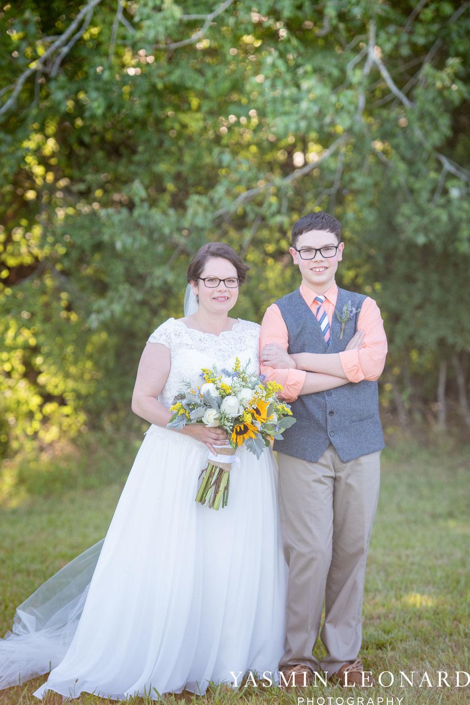 Patty and Matt - Sunflowers and Lemons - NC Wedding Photographer - Yasmin Leonard Photography-36.jpg